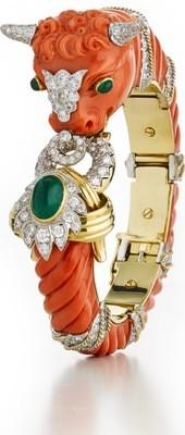 couture - bull bracelet