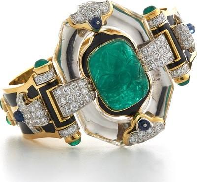 couture - cross river bracelet