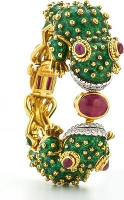 twin frog bracelet
