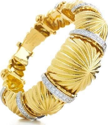 Fluted Dome Bracelet