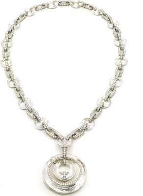 Crystal Link Necklace