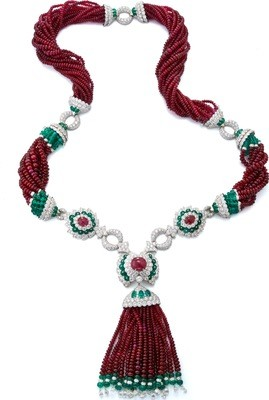 Couture - Tassel Necklace