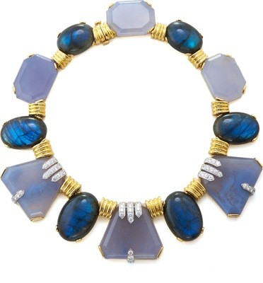 Couture - Blue Moon Necklace