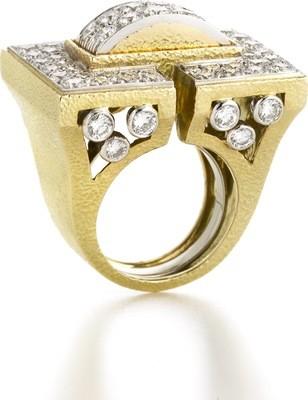 Manhattan Minimalism Ring