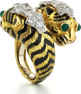 Crossover Tiger Ring