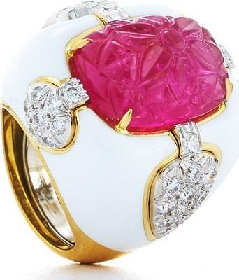 Quatrefoil Ring