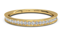 Women's Micropavé Diamond Wedding Ring
