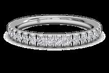 Women's French-Set Diamond Wedding Ring