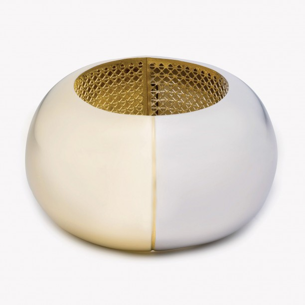 SPHERE BANGLE GOLD/SILVER