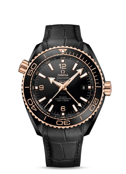 Planet Ocean 600M Omega Co-axial Master Chronometer GMT 45.5 mm