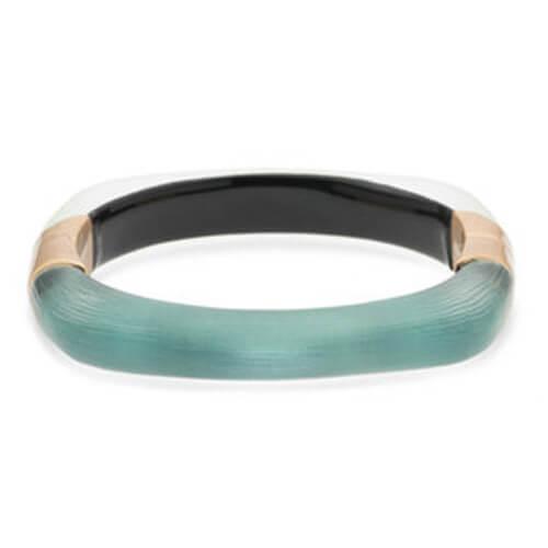 Soft Square Color Block Hinge Bracelet