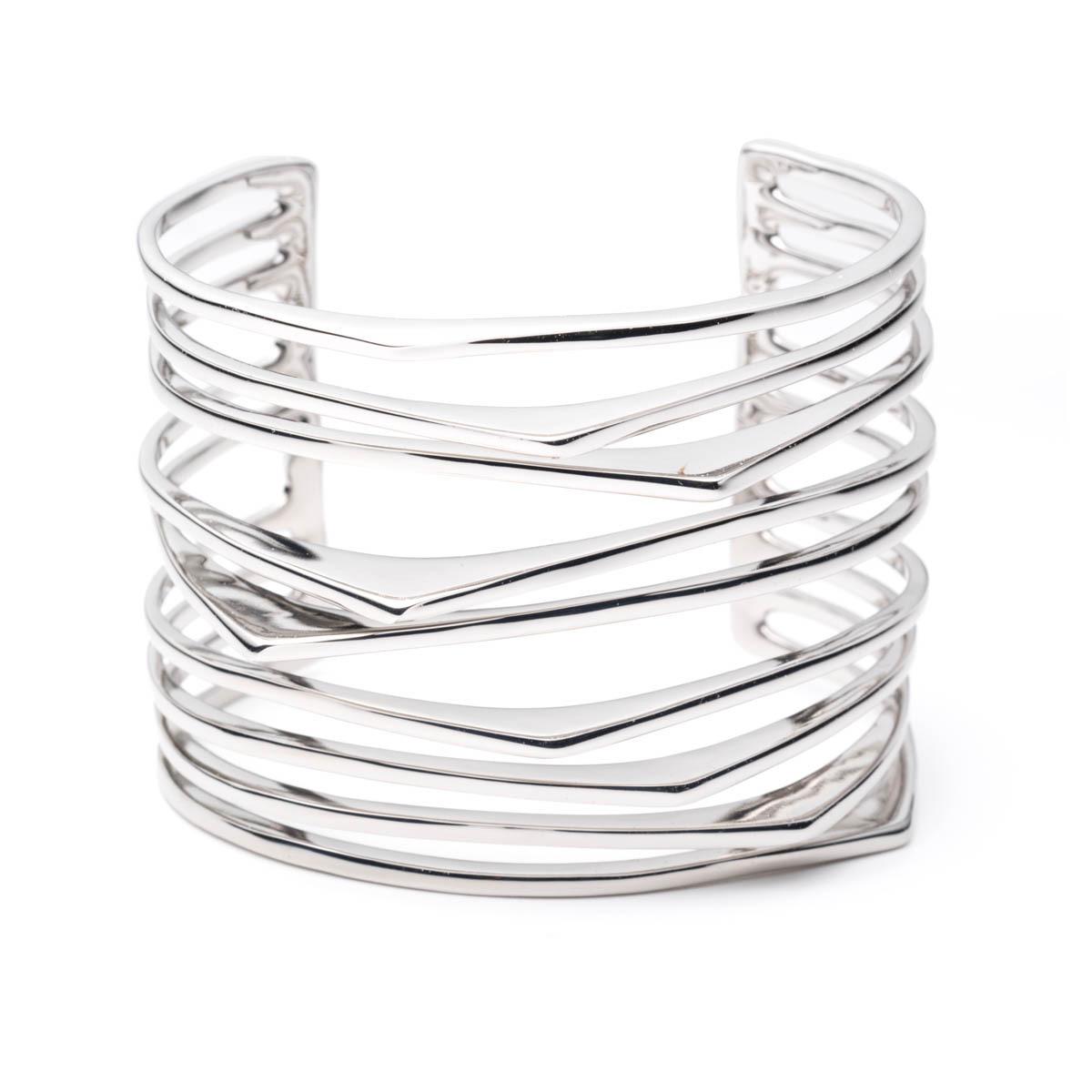 Futurist Cuff Bracelet