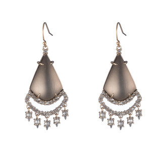 Crystal Lace Chandelier Earring