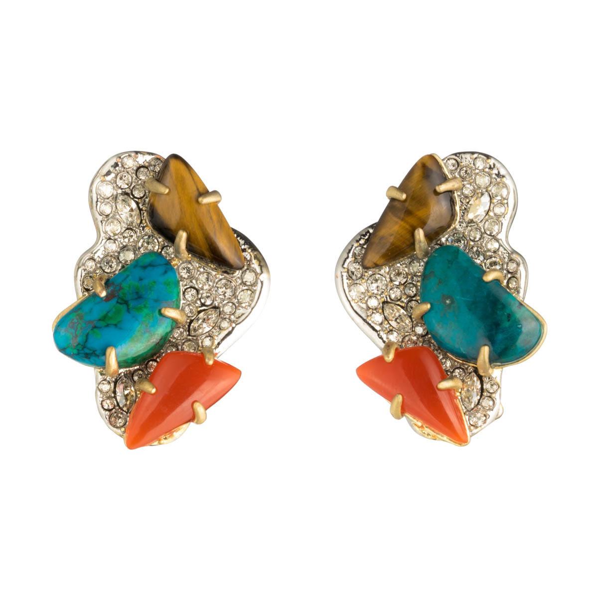 Roxbury Cluster Clip Earring