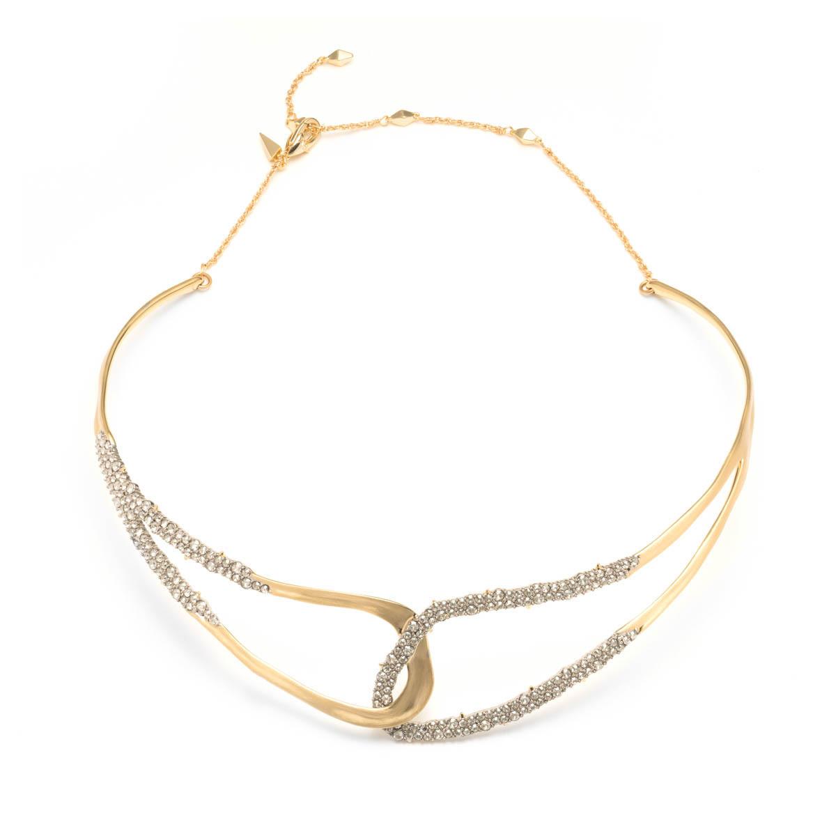 Freeform Adjustable Collar Necklace