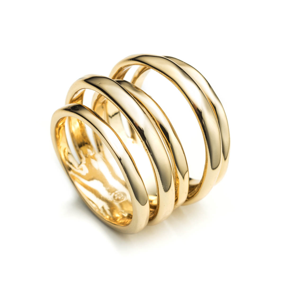 Liquid Gold Layered Ring