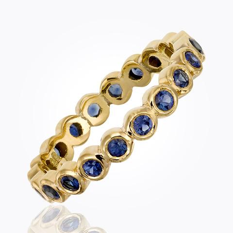 18K Angel Ring in diamond pa...