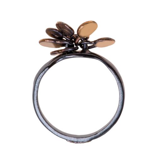 22k Gold Tassel Ring