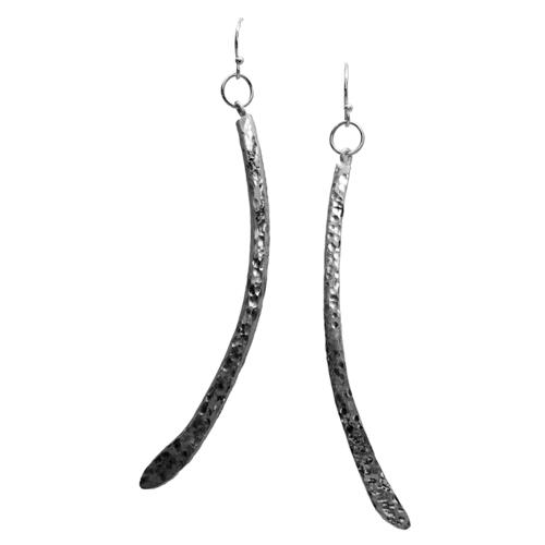 Grey Wolf Earrings