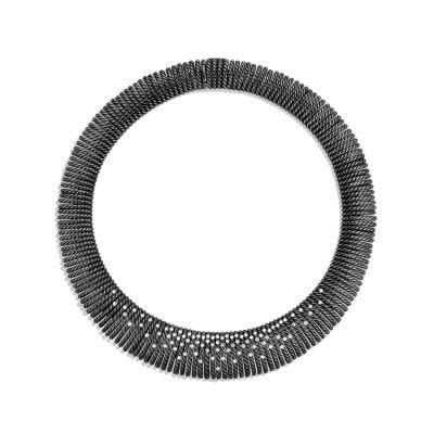 Tempo Necklace with Diamonds