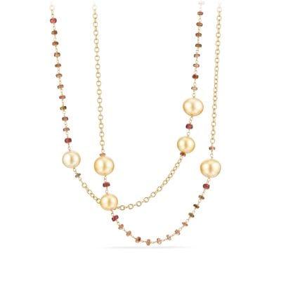 Petite Pavé Lock and Key Charm Necklace with Diamonds