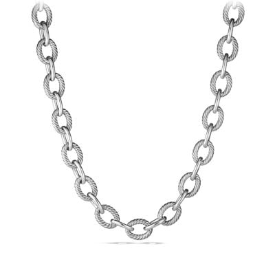 Extra-Large Oval Link Necklace