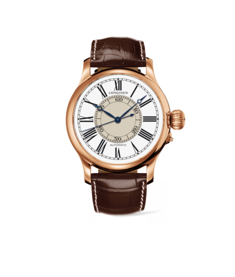 The LongInes Weems Second-SettIng Watch-l2.713.8.11.0