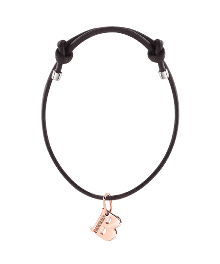 bracelet with charms and diamonds