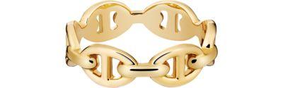 Chaine d'Ancre Punk ring, medium model
