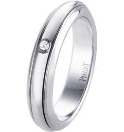 White gold diamond ring Band width: 4.5 mm