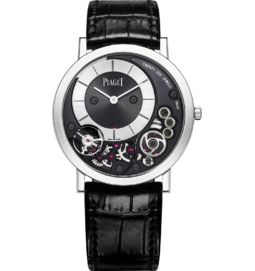 ultra-thin watch mechanical white gold 38 mm