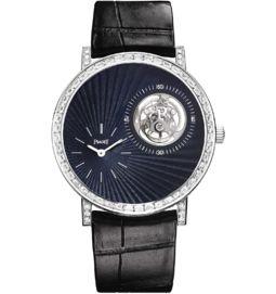 Tourbillon watch ultra-thin mechanical diamonds 41 mm