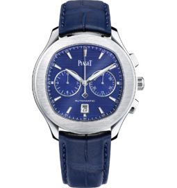 Chronograph watch automatic steel 42 mm