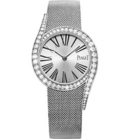 Diamond watch white gold 32 mm