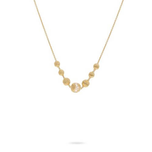 africa constellation diamond necklace