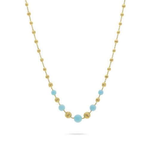 Africa Turquoise Short Necklace