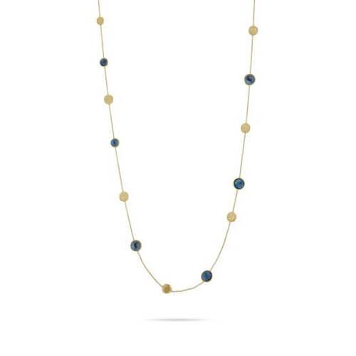 Jaipur London Blue Topaz Long Necklace