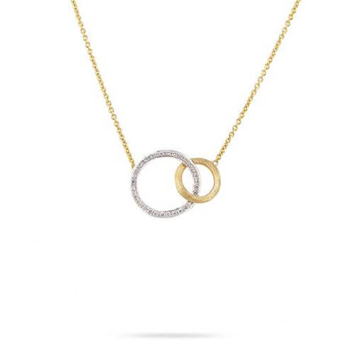Jaipur Link Gold & Diamond Medium Pendant