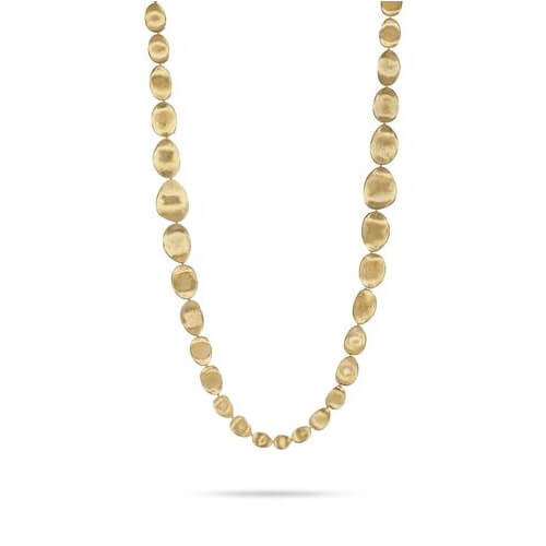 Lunaria Gold Large Double Wave Necklace