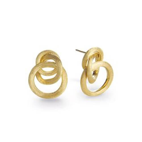 Jaipur Link Gold Small Knot Earrings