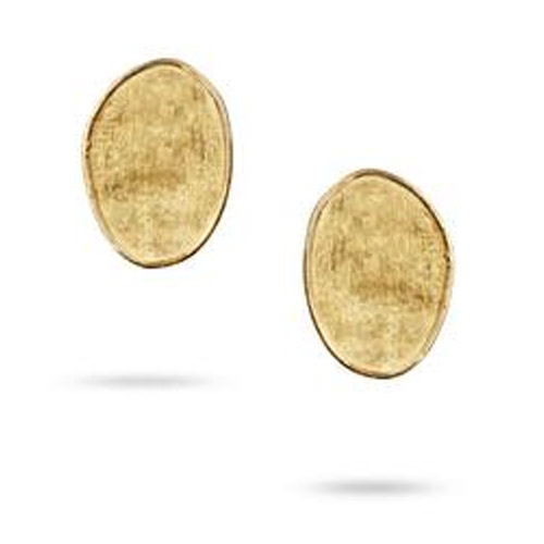 Lunaria Gold Small Stud Earrings