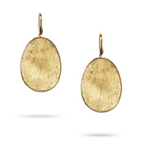 Lunaria Gold Large Drop Earrings