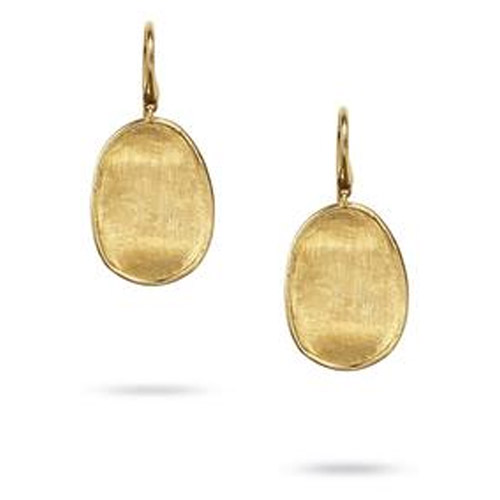 Lunaria Gold Small Drop Earrings