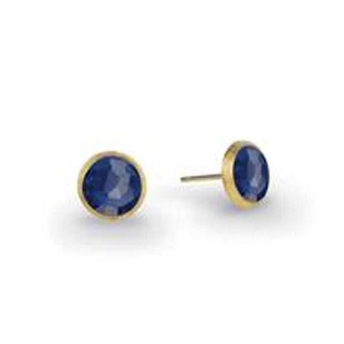 Jaipur Lapis Petite Stud Earrings