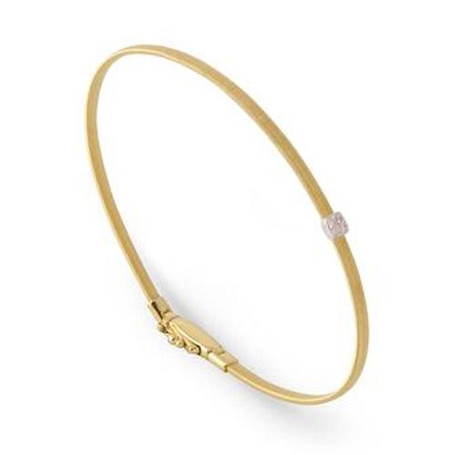 Masai Small Single Station Diamond Bracelet in Yellow Gold