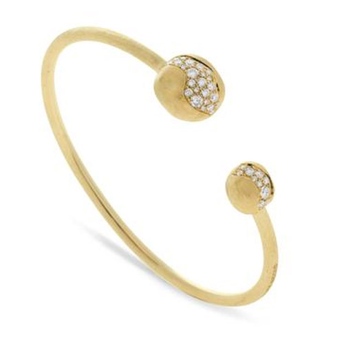 africa constellation large diamond kissing bangle