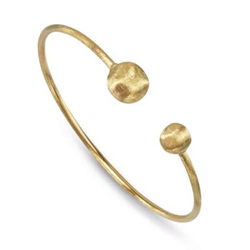 Africa Gold Kissing Bangle
