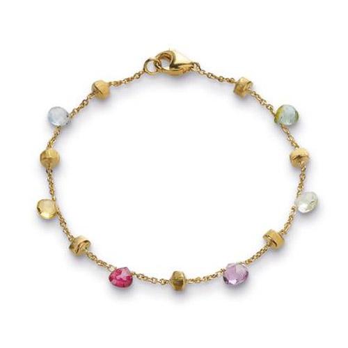 Paradise Mixed Stone Single Strand Bracelet