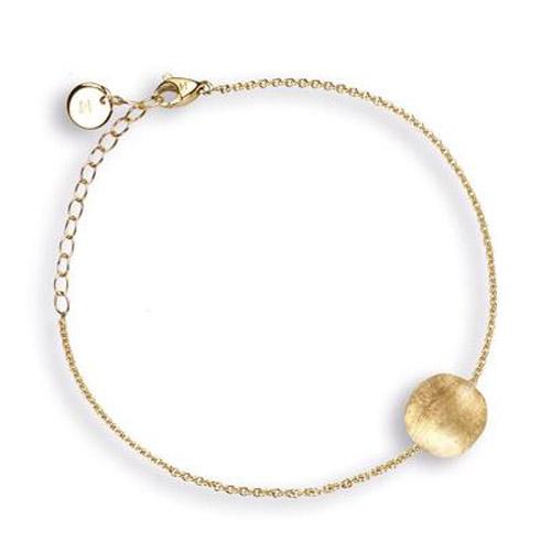 Delicati Gold Round Bead Bracelet