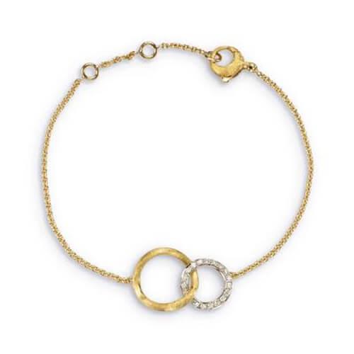 Jaipur Link Gold & Diamond Bracelet